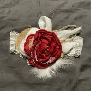 Other - Red rose headband
